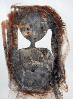 """Saatchi Online Artist: Scott Bergey; Mixed Media, 2011, Painting """"Wherefore And Why"""""""