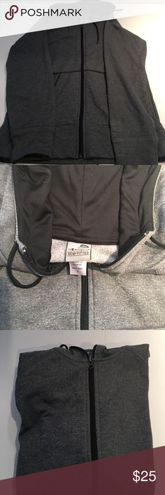 Champion Semi Fitted Front Zipped Jacket EUC Champion Front Zipped with Hood Semi Fitted Jacket.100% Polyester. Champion Jackets & Coats