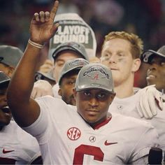 Instagram media by roll_tide_fever - Shoutout to @_bsims6 for a great game and season #rolltide #rtr