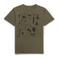 Westeros T-shirt Drop Dead Clothing, The Only Exception, Tanks, Print Design, Graphic Tees, Game, Mens Tops, T Shirt, How To Wear