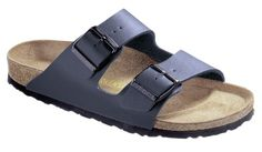 Birkenstock Womens Arizona 2Strap Cork Footbed Sandal Blue 38 M EU *** Check out the image by visiting the affiliate link Amazon.com on image.