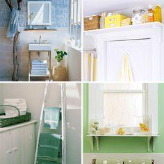definitely adding this shelf under the window in our bathroom