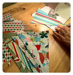Pennant Banner Tutorial  Quilting In The Rain