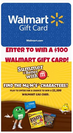 Summer Fun is Better with M! | This Mama Loves Enter to #win a $100 Walmart #giftcard and  http://mamalovesherbargains.com/?p=46593