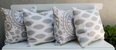 Decorative Throw Pillow Cover One 18 x 18 by FestiveHomeDecor