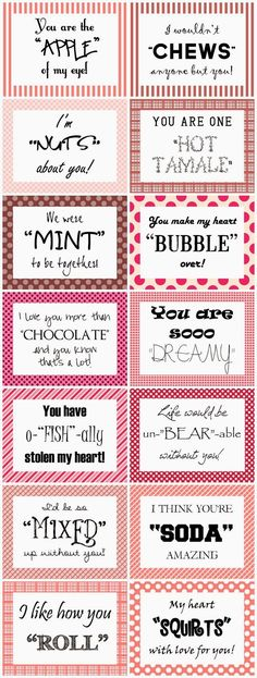 "Bit Cheesey but ... cute for Valentine Care packages - Heart Expressions Design: Free ""14 Days of Valentines"" download"