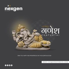 Creative Poster Design, Ads Creative, Creative Posters, Hanuman Hd Wallpaper, Navratri Wishes, Ganpati Festival, Ganesh Utsav, Social Media Poster, Diwali Greetings