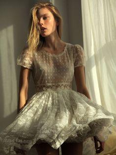 pretty lacy dress