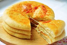 Yummy Food, Tasty, Veggie Recipes, Bakery, Food And Drink, Veggies, Favorite Recipes, Bread, Cheese