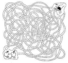 Gelijkenis van de zaaier doolhof (en andere doolhoven) // Sowing The Seeds Of God's Word Printable Maze and other mazes.