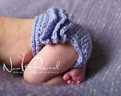 Free Crochet Diaper Soaker Pattern | Crochet PATTERN - Ruffle Bottom Diaper Cover Soaker - Instant
