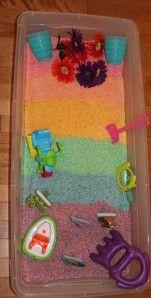 Rainbow Rice Garden - Sensory Garden