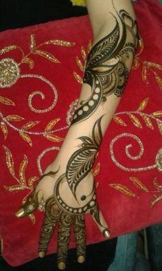 Gulf henna design 3