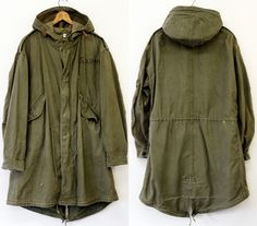 Army Coat, Outfits Hombre, Mod Fashion, Comme Des Garcons, Field Jacket, Junya Watanabe, Menswear, Army Style, Moda Masculina