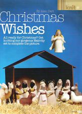Alan Dart Knitting Pattern for Christmas Wishes Nativity Alan Dart, Christmas Wishes, Christmas Ideas, Christmas Knitting, Double Knitting, Nativity, Knitting Patterns, Projects To Try, Feelings