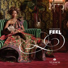 NEW COLLECTION 'FEEL' | This season we FEEL feminine and fabulous with eclectic florals, romantic prints and richly detailed decoration.We have all the fashion inspiration you'll need to look your best in our romantic new collection and plenty of great wedding gift ideas to enthuse you. | #vlisco #thetrueoriginal #fashion #couture #africanprintfashion #ankarafashion