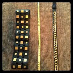 Armani Exchange, J Crew Armani Exchange Belt, Dog Paw Pads, Chain Belts, Gold Studs, Gold Chains, J Crew, Gold Box, Pop, Accessories