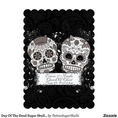 mexican sugar skull wedding save the date 45x625 sugar skull wedding invitations pinterest sugar skull wedding skull wedding and wedding - Skull Wedding Invitations