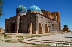 Image result for Mausoleum of Khoja Ahmed Yasawi Kazakhstan