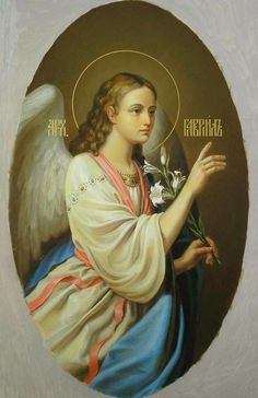 Religious Paintings, Religious Art, Seraph Angel, Saint Gabriel, Angels Beauty, Archangel Raphael, Angel Images, Angels Among Us, Angels In Heaven