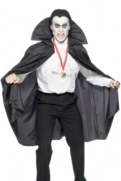 Cape vampire adulte halloween