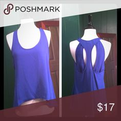 Hi-Low Blouse High low blouse with open back b. jewel Tops Tank Tops