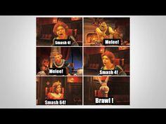 Im fir Brawl Super Mario Memes, Video Game Memes, Game Guide, Gaming Memes, Hilarious Memes, Super Smash Bros, Mandalorian, Donkey, Legend Of Zelda