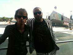 LCCC Dom Howard & Chris Wolstenholme