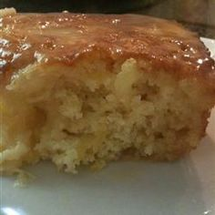 I was wondering if anyone has tried this cake as a batter over pineapple upside down cake?  I have not tried it yet.  I read all of the reviews but