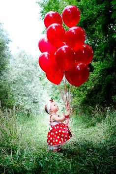 RED is beautiful (and the little girl is adorable)!!