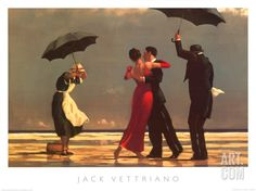 The Singing Butler, by Jack Vettriano