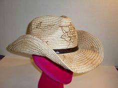 Shyanne Branded Fiber Straw Shapable Western Cowboy Hat One Size Women'S | eBay