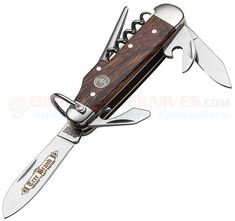 Boker Classic Gold Camp Knife Desert Ironwood Pocketknife in. Classic Gold, Nickel Silver, Knives And Swords, Swiss Army Knife, Traditional Design, Blacksmithing, Laser Engraving, Sale Items, Blade