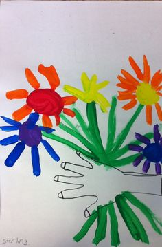 1000 images about preschool themes flowers on pinterest for Picasso petite fleurs
