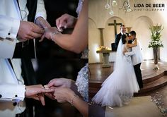 A beautiful wedding at Avianto wedding venue by professional wedding photographers André and Lida de Beer for Chanel and Marcio. Girls Dresses, Flower Girl Dresses, Lace Wedding, Wedding Dresses, Tie The Knots, Wedding Venues, Chanel, Beautiful, Fashion