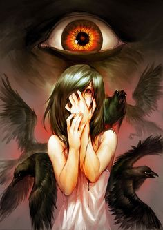 Tales of darkness - 50 Examples of Anime Digital Art  <3 <3