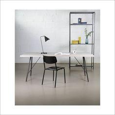 Blanco - Walter Vintage Möbel & Accessoires Office Desk, Interiors, Furniture, Home Decor, White People, Atelier, Table Desk, Timber Wood, Desk Office