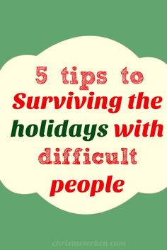 5 tips to Surviving