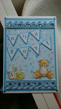 It's a boy #babyboy card for # Daniela