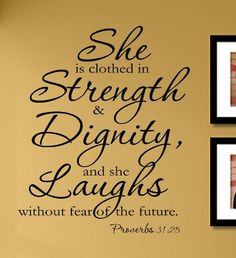 She is clothed in strength & dignity,... $4.99 #bestseller