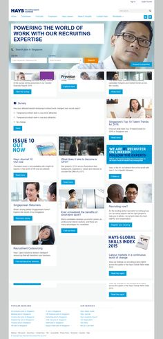 nice Good Website Samples for Singapore headhunter & Employment agency in Singapore