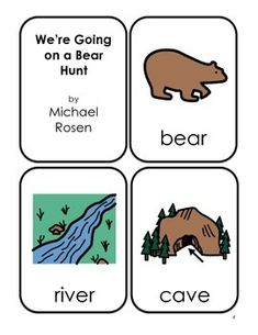 Going on a Bear Hunt preschool unit... great ideas!