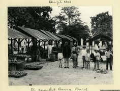 The Market, Ceara, Brazil in 1893