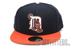 778956352c1 Detroit Tigers Fitted Baseball Cap