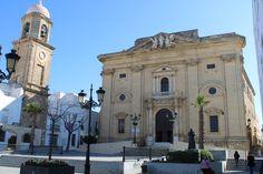 fachada de la iglesia de San Juan Bautista en Chiclana de la Frontera Notre Dame, Building, Travel, John The Baptist, Viajes, Buildings, Trips, Traveling, Tourism