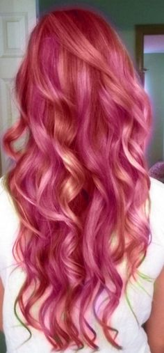 Pink hair - Eventually I'd like to do this