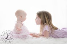 Jennifer Bel Photography ~ family ~ ~ 6 month baby with big sister ~