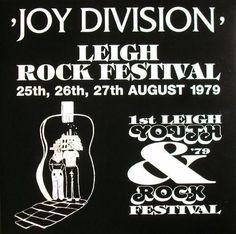 Joy Division Leigh Rock Festival Vinyl LP