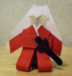 Inuyasha Ribbion Clip! So adorable!  Is it bad I'd put this on my kid? :)