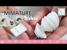 미니어쳐 그릇 만들기 miniature bowl polymerclay food - YouTube